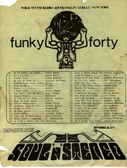 Buffalo's 93.7 WBLK Funky Forty chart September 26, 1977