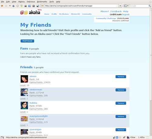 Akoha - My Friends