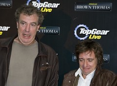 Jeremy Clarkson and Richard Hammond at the Top Gear Live press C (Tony Kinlan) Tags: dublin brown canon thomas tony conference 5d jezza kinlan jeremyclarksonandrichardhammondatthetopgearlivepressc