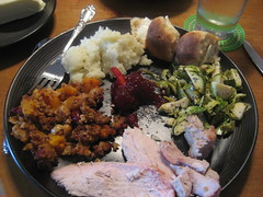 Thanksgiving dinner!