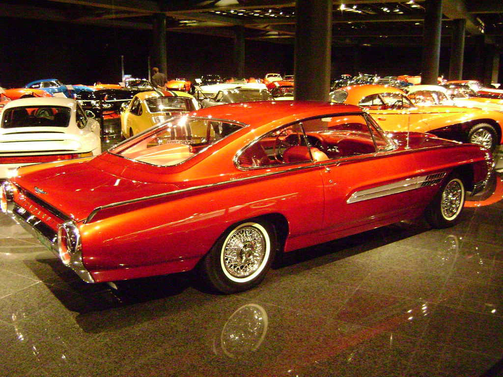 The Italien Was A Styling Study By Ford And Built Fords Concept Car Builder Dearborn Steel Tubing Shown As Part Of Custom Caravan Exhibited
