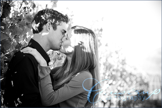 Charlie and Danielle san luis obispo engagement photography by ChristanP Photography