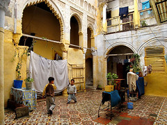 We live in an old mansion... Ahmed and I in the courtyard (© noborders) Tags: boys canon colours northafrica dar ixus morocco oldhouses img5438 ixus850is 850is autumn07 rabatsalé