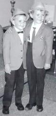 Garry and Wayne 1965 (brusewaynesalbum) Tags: brothers wayne garry garryandwayne