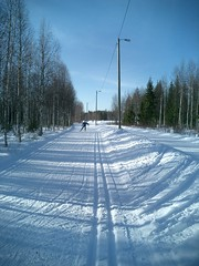 Rovaniemi, Finland Cross Country Skii routes