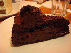 London 2009- Torta al cioccolato con crema di burro