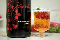 Strawbellini - Moscato Strawberry Sparkling Wine (.n.a.d.) Tags: ocean road strawberry wine farm great sunny australia melbourne victoria ridge greatoceanroad sparkling gor moscato strawbellini