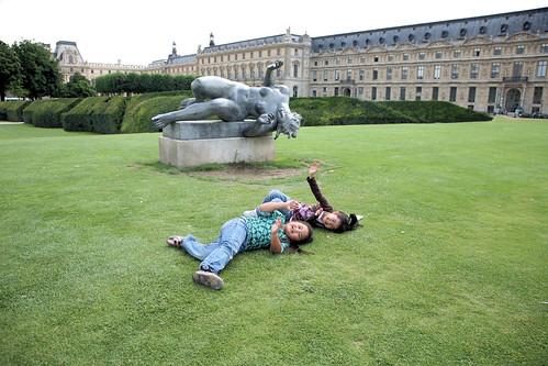 Life imitates art - Paris, France