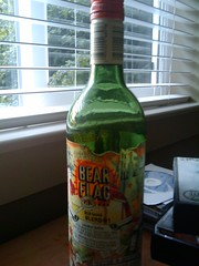 Bear Flag Wine Bottle