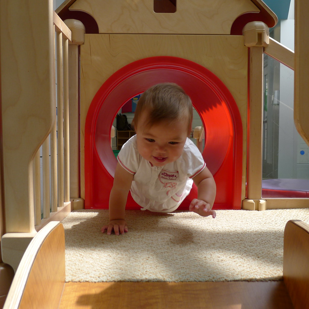 11 month at indoor playground