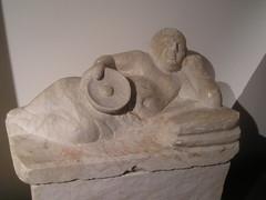 Cinerary urn (Verity Cridland) Tags: italy urn etruscan etruria chiusi etruscans