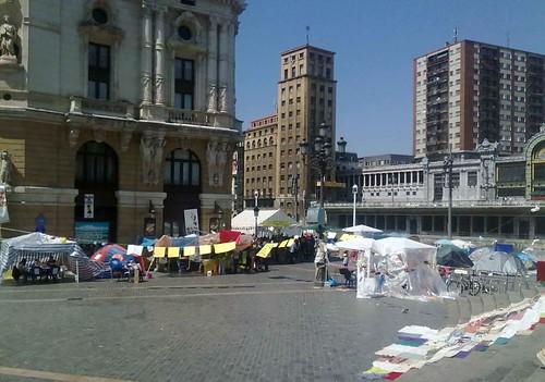 Toma la Calle #acampadabilbao