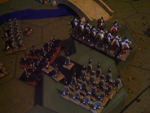 British cavalry join the fray