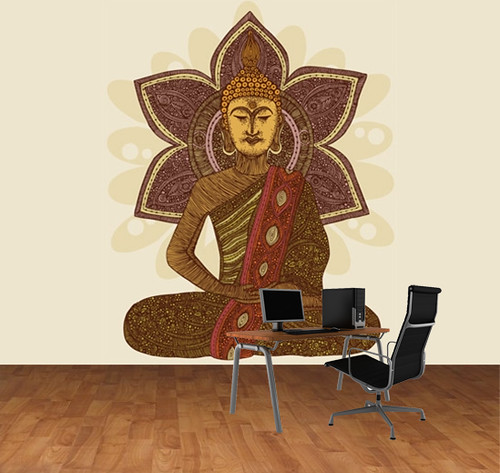 Sitting Buddha ~ Murals your way