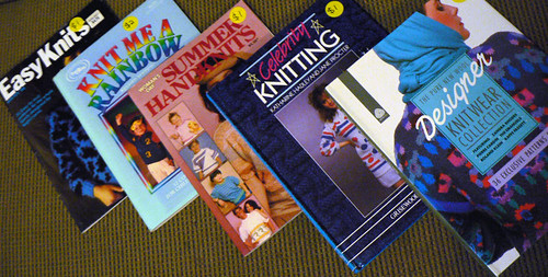Retro Knitting Books