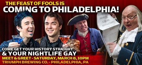 Pheast of Phools is Coming to Philadelphia!