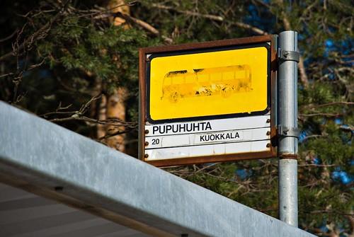 Bussipysäkki 1