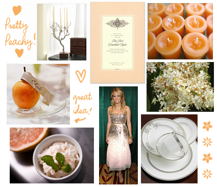 HELP GREY and PEACH inspiration boards Project Wedding Forums