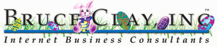 Bruce Clay Easter Logo