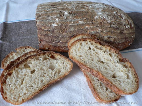 Rolled oat and apple bread 001