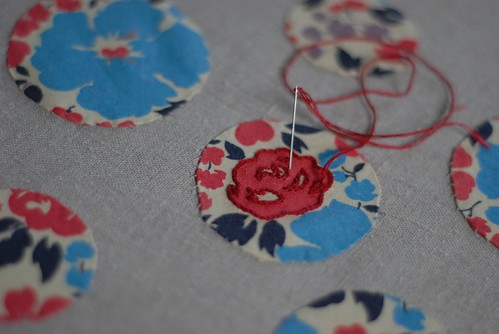flower blossom applique