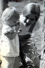 me and mom, circa 1977