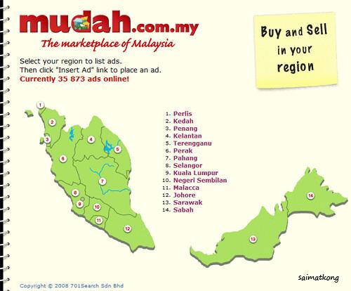 Mudah.com.my, the marketplace of Malaysia.