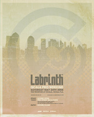 Labrinth Poster (_Untitled-1) Tags: poster design graphic skateboarding florida event maze osaka network ocala fronton labrinth