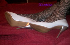 White leather peep toe zebra 1 (65)
