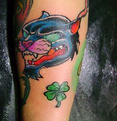 Tatuagem da pantera (ilustracionamentador) Tags: color tattoo design arte draw ilustrao desenho tatuagem victorjam