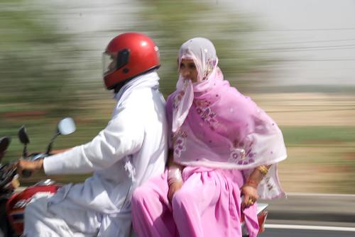 2529278058 97e26d7571 Women on motorbike