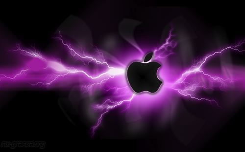 apple wallpaper 2011. lightening wallpapers. Apple