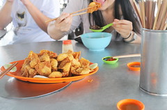 Fried Wantons in Malacca