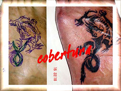 tatuagem dragao tribal