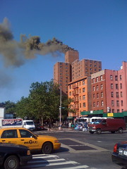 Fire in the LES