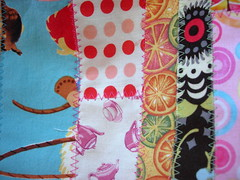 Patchwork Lunch Bag - Patchwork Detail