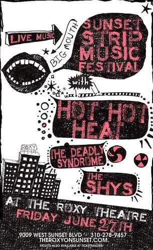 Hot Hot Heat -SSMF 6/27