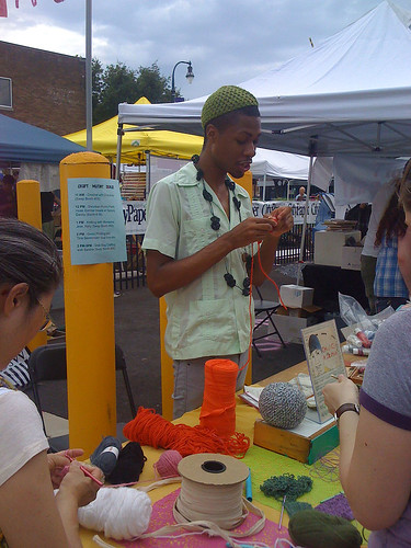 Crafty Bastards craft show in Silver Spring - Taken With An iPhone