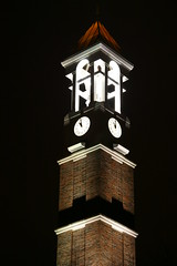 Purdue University (Mike Rollinger) Tags: pictures west building tower night dark campus lights university lafayette bell shots good quality engineering neil indiana purdue armstrong phtotography