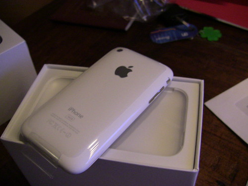 Iphone 3G White 230 E