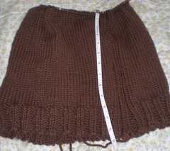 Brown sweater for DH