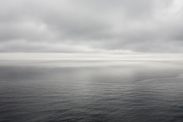 View of the ocean from Signal Hill, Newfoundland