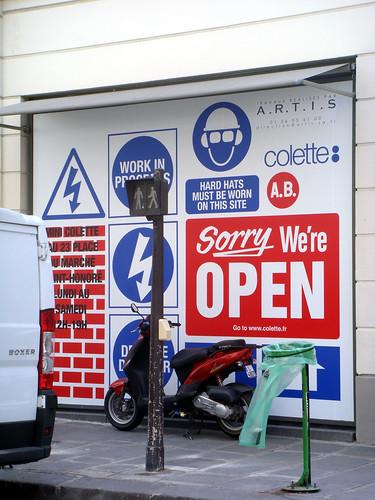 colette store renovation