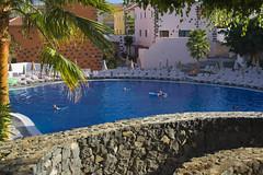 Pool #3 (michaelgrohe) Tags: ocean vacation costa holiday pool island hotel kanaren canarias atlantic tenerife teneriffa riu vulkan inseln adeje