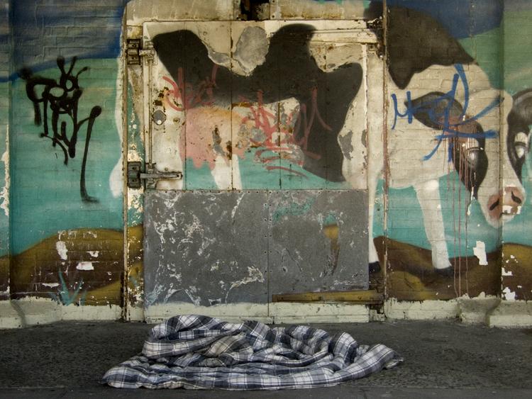 street art on gansevoort & west side highway
