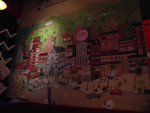 Mr. Pizza Factory mural