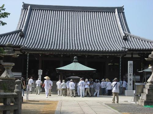 Shikoku pilgrimage(76 Konzōji  Temple,金倉寺)