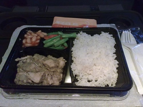 Some Thai Green Curry on Airebus