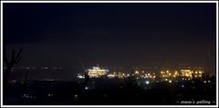 Bukit Senyum ~ Singapore from distance (~erwin~) Tags: night lights senyum bukit batam indonesianphotobloggers singaporefromdistance