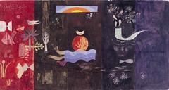 壁画 <平和のパイプ>スケッチ 1963年
